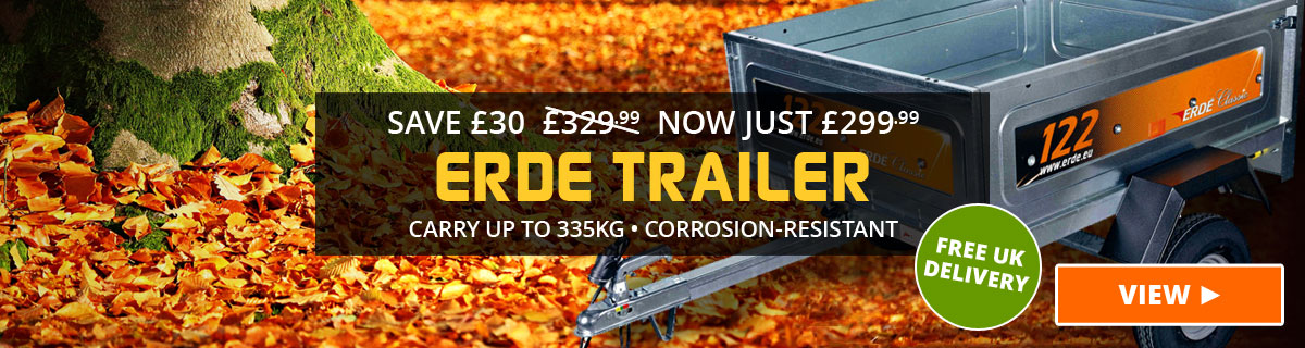 Save £30 on Erde Trailer
