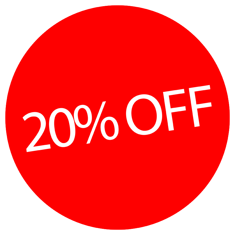 logo for 20% off Selected Car Covers