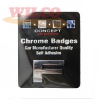 Image for Chrome Badge F