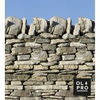 Image for Windbreak Stone Wall 4 Pole Compact (Steel poles)