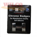 Image for Chrome Badge H