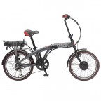 Image for Coyote Connect Folding Electric Bike - 24V - Grey
