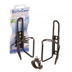 Image for Bottle Cage with Bracket - Black