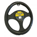 Image for Black Steering Wheel Cover with Massage Effect