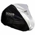Image for Aquatex Double (2 Cycle) Bicycle Cover - Black/Silver