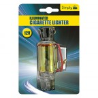 Image for Universal 12v Illuminated Cigarette Lighter Socket