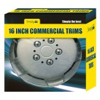 "Image for 16"" Wheel Trims - Deep Dish for Commercial Vehicles - Set of 4"