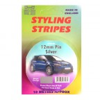 Image for 12mm Styling Stripe - Pin Silver - 10m