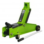 Image for Trolley Jack 3 Tonne Hi Vis Green