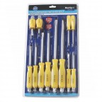 Image for Blue Spot 12 Piece Hex Shank Bolster Screwdriver