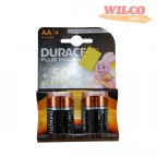 Image for Duracell Batteries - AA Size (LR6) - 1.5V Alkaline - Pack of 4