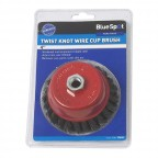 "Image for 4"" Twist Knot Wire Cup Brush"