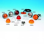 Image for Mini Indicator Light with Amber Lens - Pre 86