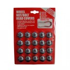 Image for 17mm Chrome Wheel Nut Bolt Cover NCO01-CH