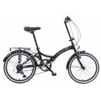 "Image for Viking Metropolis Folding Bike - Black - 13"" Frame"