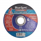 "Image for Blue Spot 4.5"" Stainless Steel Cutting Disc"