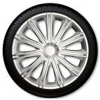 "Image for 16"" Nero Wheel Trims - Silver - Set of 4"