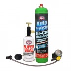 Image for Complete Air Con Recharge Kit With Trigger Gauge And STP Super Seal - Online Exclusive Only