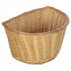 Image for D Shaped Wicker Basket