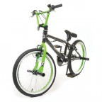 "Image for BMX BiKE - Black & Green - 20"" Wheels"