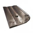 Image for Reflective Aluminium Sunshade - Large