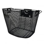 Image for Mesh Front Quick Release Bicycle Basket - Black