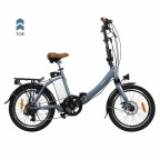 "Image for Juicy Compact Plus Folding E-Bike - Tor Blue - 20"" Wheels"