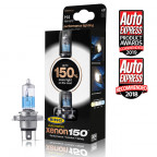 Image for H4 Ring Automotive Xenon 150% Headlight Performance Bulbs - Pack of 2