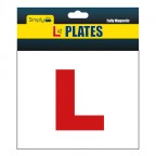 Image for L Plates - Magnetic - Pair of 2