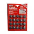 Image for 17mm Grey Wheel Nut Bolt Cover NCO05-TG