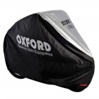 Image for Aquatex Single Bicycle Cover - Black/Silver
