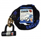 Image for Chain10 High Security Chain Lock and Mini Shackle 1.4m