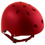 Image for Bomber Helmet Matt Red - Medium