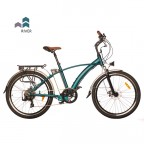 "Image for Juicy Sport Click Hybrid E-Bike - River Blue - 26"" Wheels"