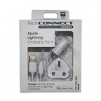 Image for TechConnect Apple Device Charging Kit - White