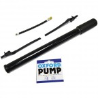 "Image for 15"" MTB Bicycle Pump with SV PV Connectors"