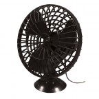Image for 12V Plastic Oscillating Car Fan