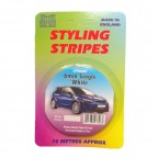 Image for 6mm Styling Stripe - Pin White - 10m