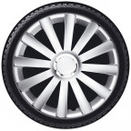 "Image for 15"" Spyder Pro Wheel Trims - Silver - Set of 4"
