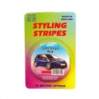 Image for 3mm Styling Stripe - Pin Red - 10m