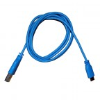 Image for USB to Micro USB Braided Cable - Blue