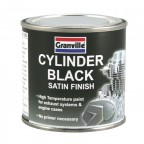 Image for Cylinder Black Paint - 125ml