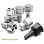 Image for 186-II 17mm Trilock Locking Wheel Bolts