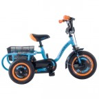 "Image for Concept 2+One Single Speed Trike - Bright Blue and Black - 12"" Wheel"
