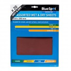 Image for Blue Spot 20 Piece Wet & Dry Sandpaper