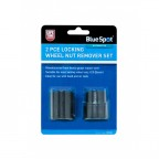 Image for BlueSpot Locking Wheel Nut Remover Set - 2 Piece