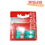 Image for Flat Blade Fuses 30 Amp - Pack 3