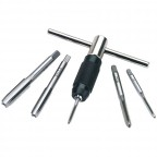 Image for 6 Piece Metric Tap And Holder Set