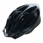 Image for F15 Black/White Cycle Helmet - Medium