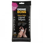 Image for Grime Boss Hand Wipes - Pack 10